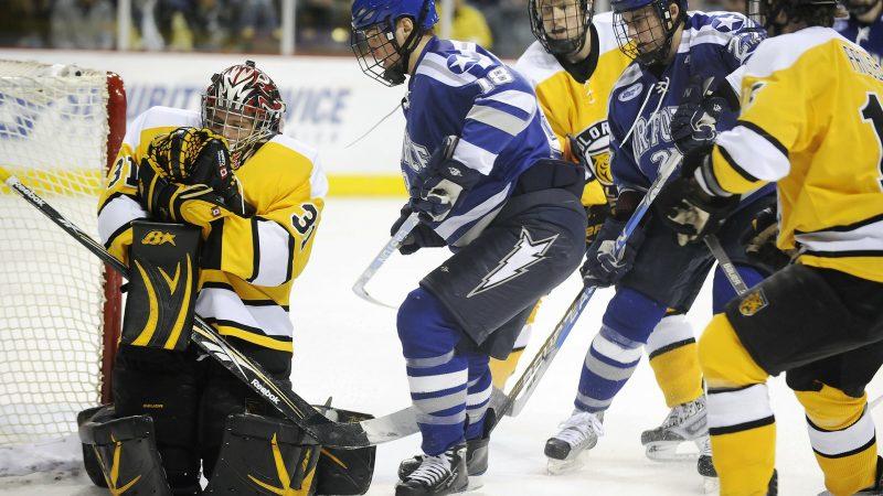 Hockey is overcoming golf game