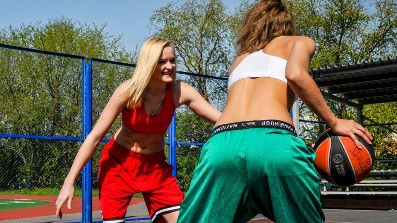 Basketball is getting popular among girls