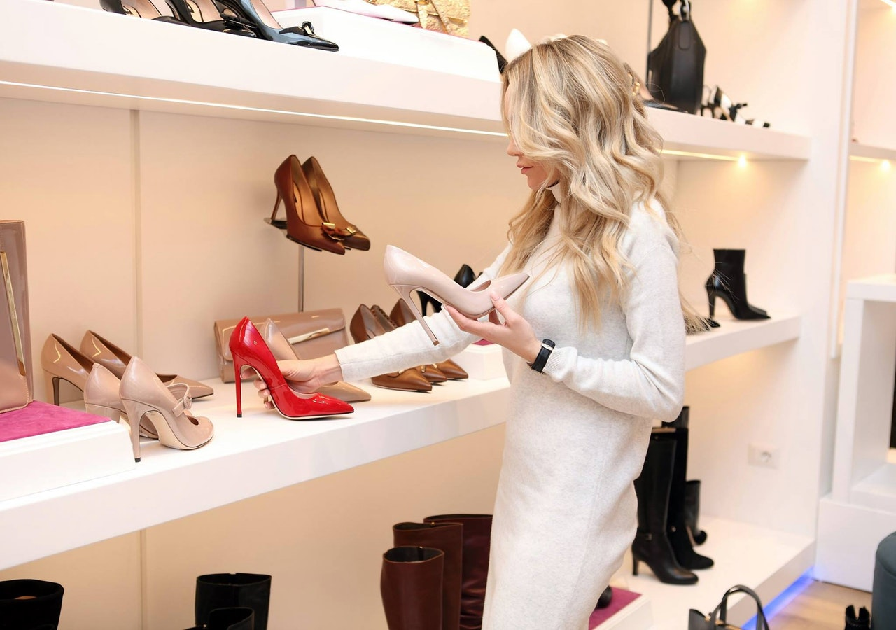Have  a look at my shoe collection in my home